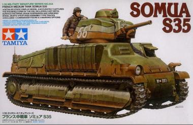 Танк SOMUA S35 1:35