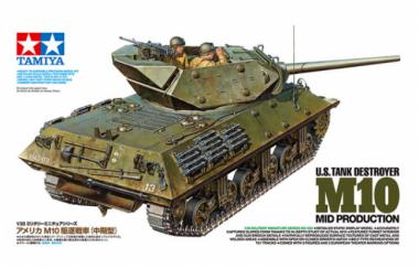 Tank Destroyer M10 с 3 фигурами 1:35