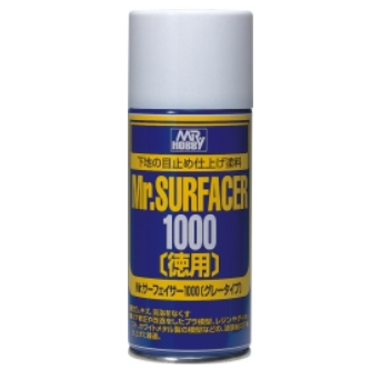 Грунтовка B-519 MR.HOBBY Mr.SURFACER 1000 DELUXE 170 мл