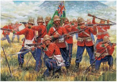 British Infantry (Zulu War) 1:72