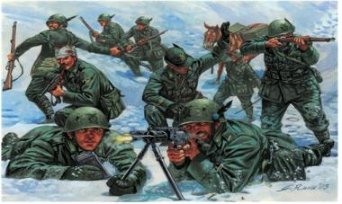 Alpini - Italian Mountain Troops 1:72