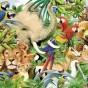 Пазл «Мир животных»