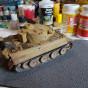 Сборная модель танк Тигр 1:35 звезда