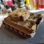 Сборная модель танк Тигр 1:35