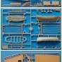 модель корабль крестоносцев