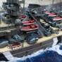 Линкор Бисмарк 1:350 tamiya